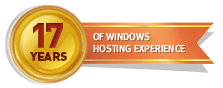 16 Years of Windows Hosting Experience