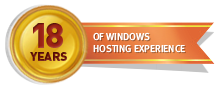 18 Years of Windows Hosting Experience