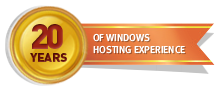 20 Years of Windows Hosting Experience