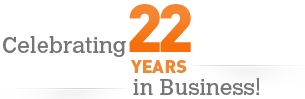 Celebrating 22 Years in Business!