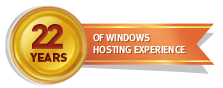 22 Years of Windows Hosting Experience